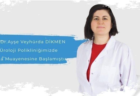 Operatör Doktor Ayşe Veyhürda Dikmen Avicenna'da