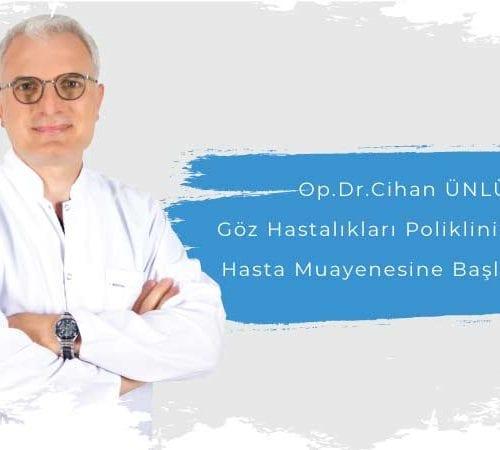 Operatör Doktor Cihan Ünlü Avicenna Ataşehir Hastanesi Ailesinde