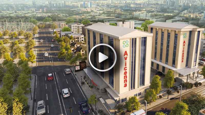 Avicenna İnternational Hospital Kapak Video